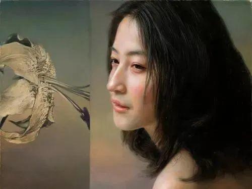 中国油画八人展,美丽的女人和风景!插图39