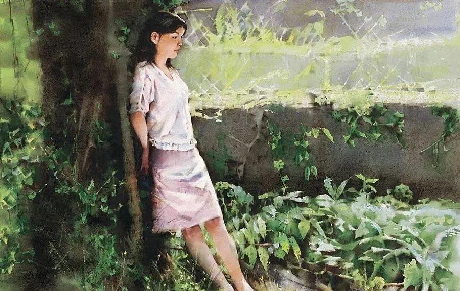 中国油画八人展,美丽的女人和风景!插图41