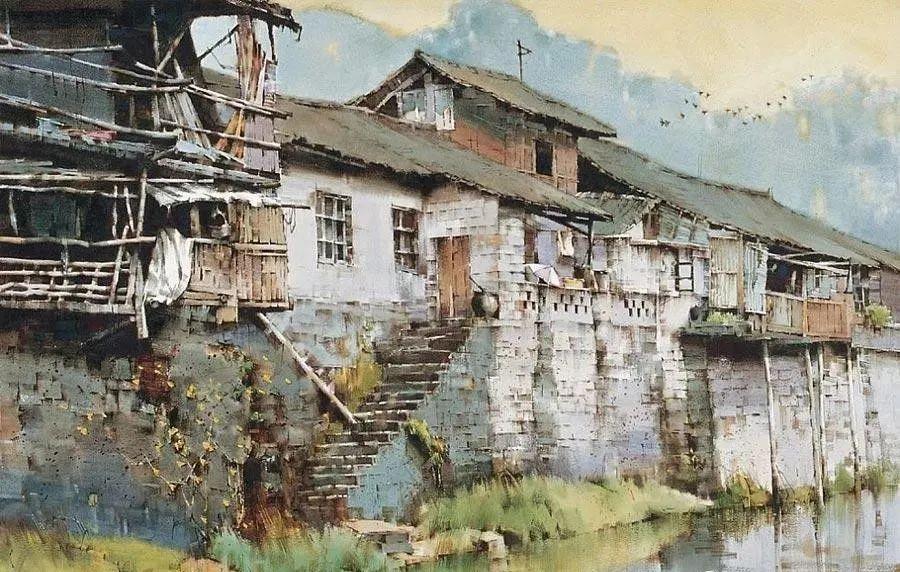 中国油画八人展,美丽的女人和风景!插图44