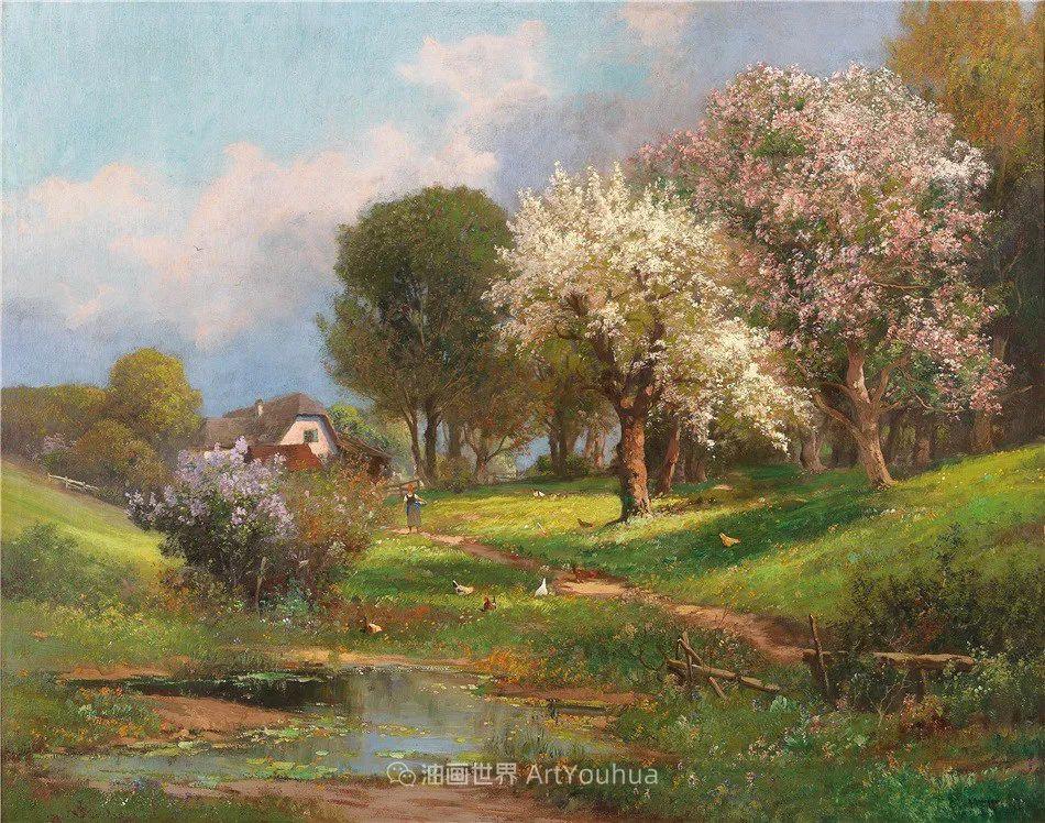 鲜花盛开的宁静乡村,风景美丽而浪漫!插图3