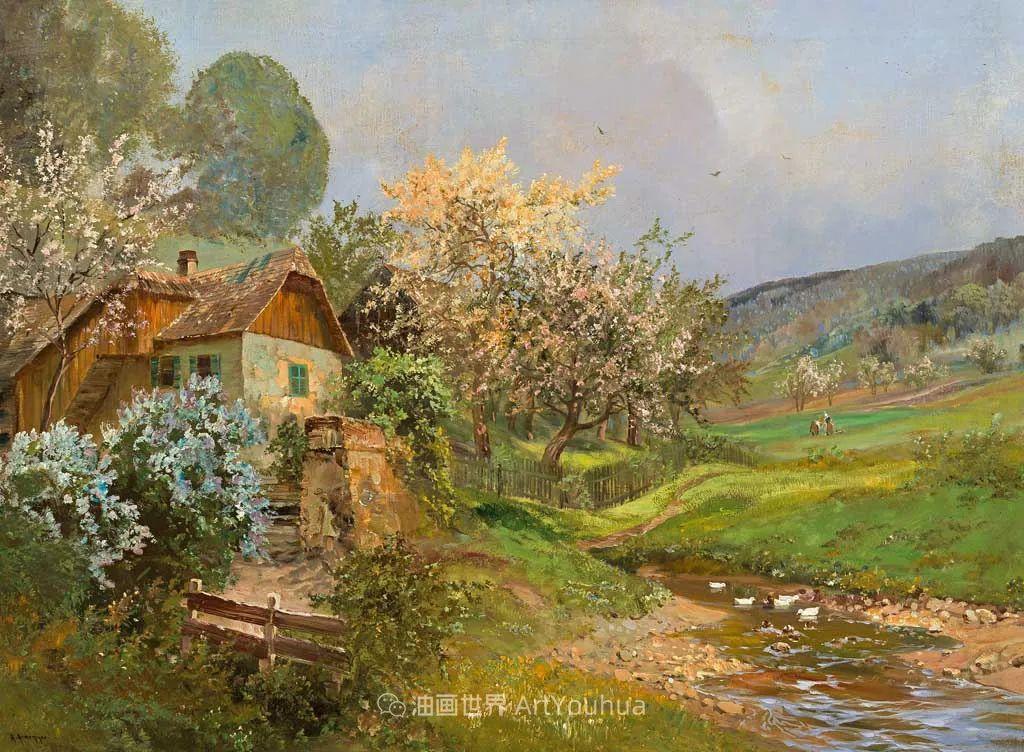鲜花盛开的宁静乡村,风景美丽而浪漫!插图9