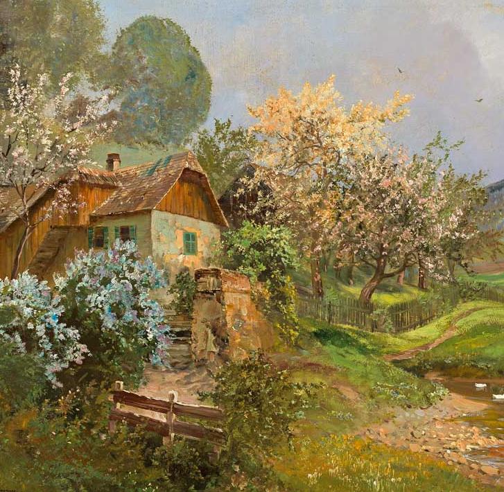 鲜花盛开的宁静乡村,风景美丽而浪漫!插图11