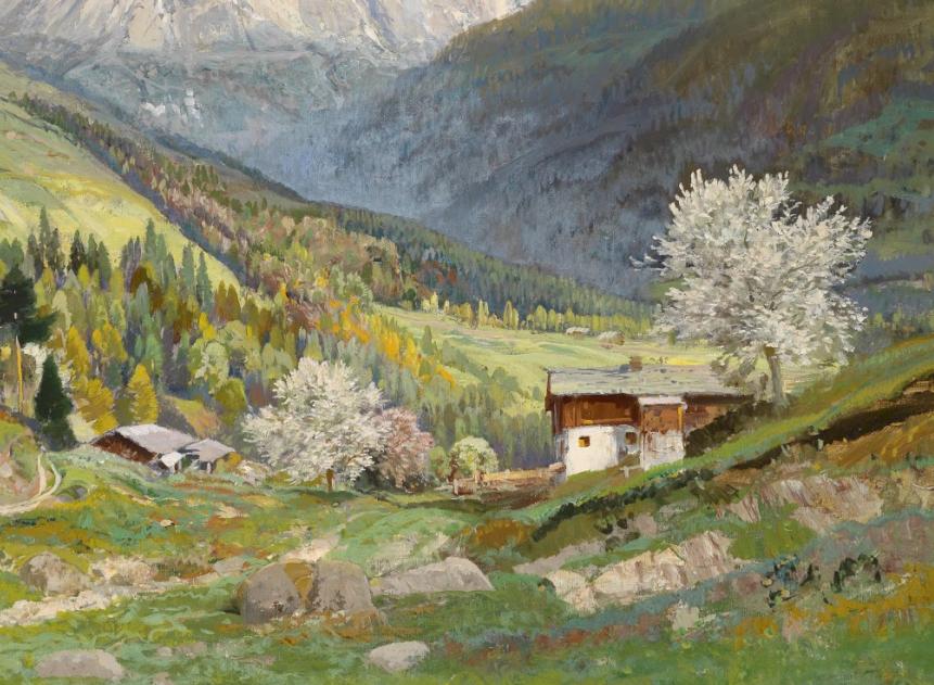 鲜花盛开的宁静乡村,风景美丽而浪漫!插图15