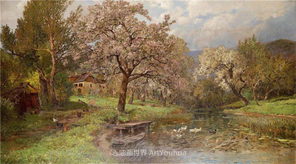 鲜花盛开的宁静乡村,风景美丽而浪漫!插图17