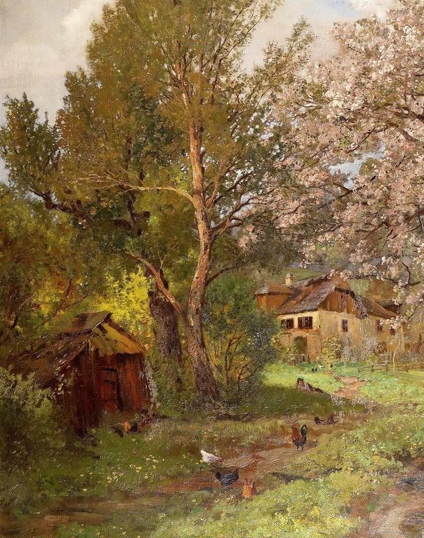 鲜花盛开的宁静乡村,风景美丽而浪漫!插图19