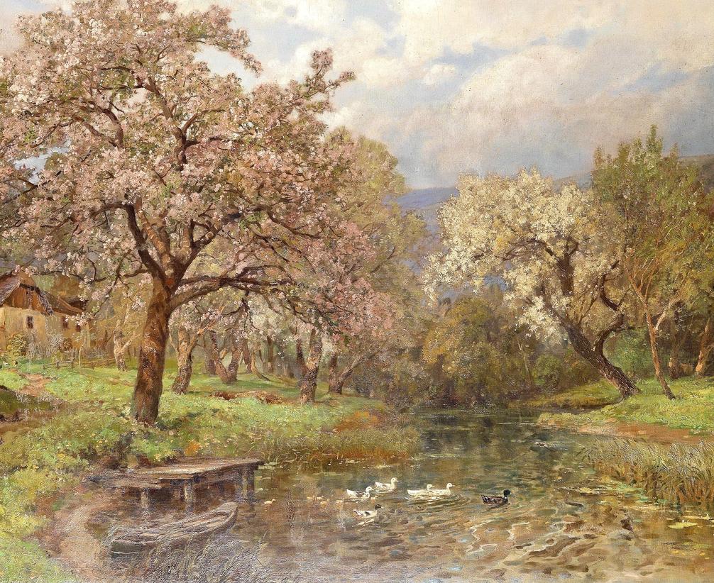 鲜花盛开的宁静乡村,风景美丽而浪漫!插图21