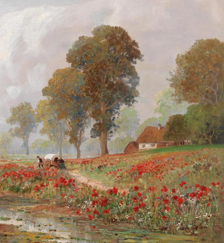 鲜花盛开的宁静乡村,风景美丽而浪漫!插图25