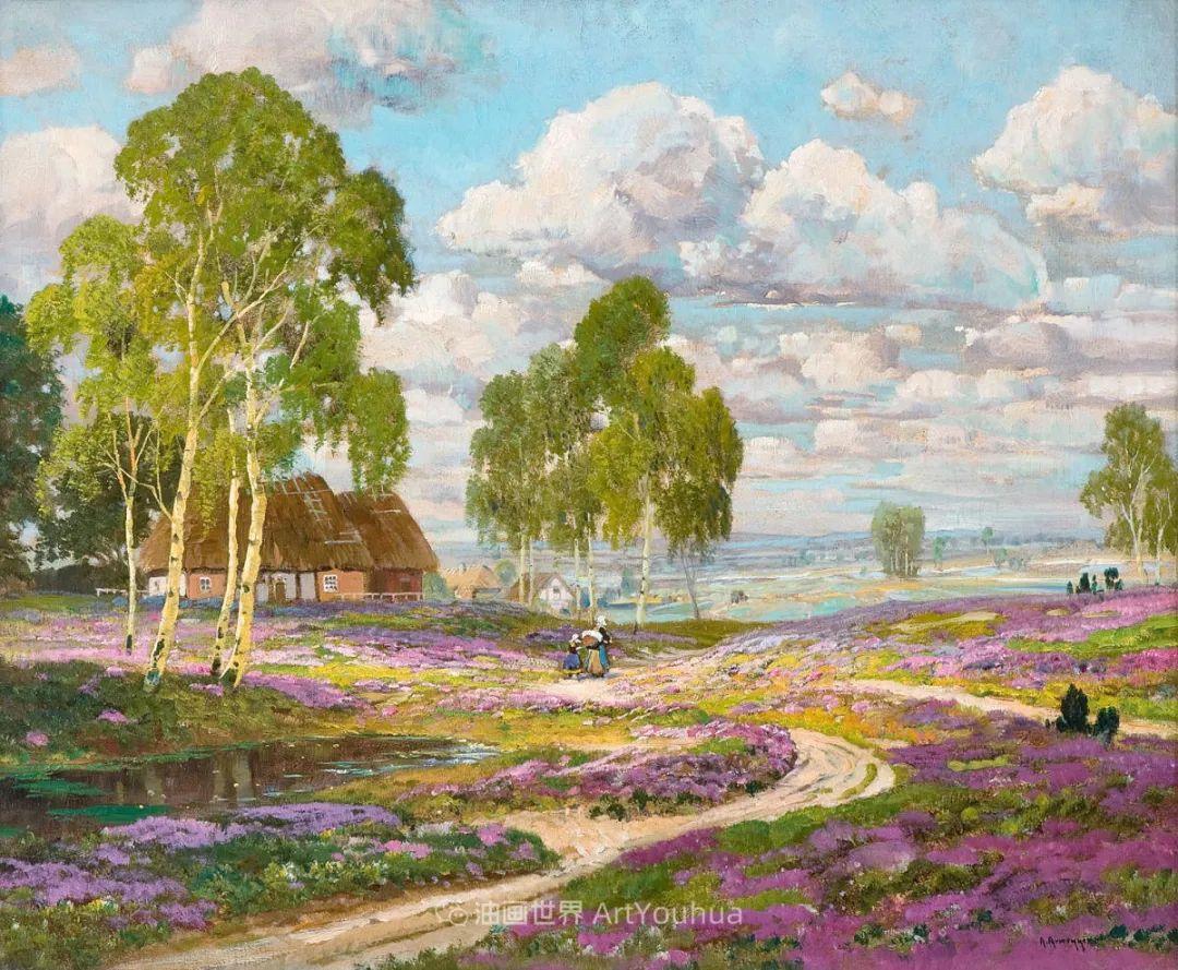 鲜花盛开的宁静乡村,风景美丽而浪漫!插图27