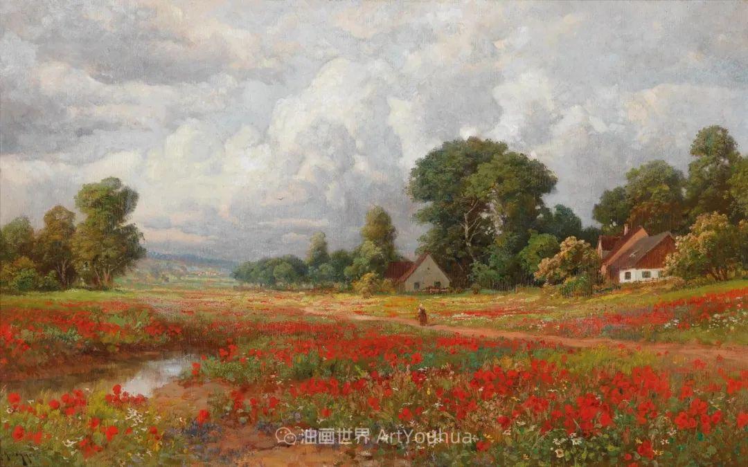 鲜花盛开的宁静乡村,风景美丽而浪漫!插图31