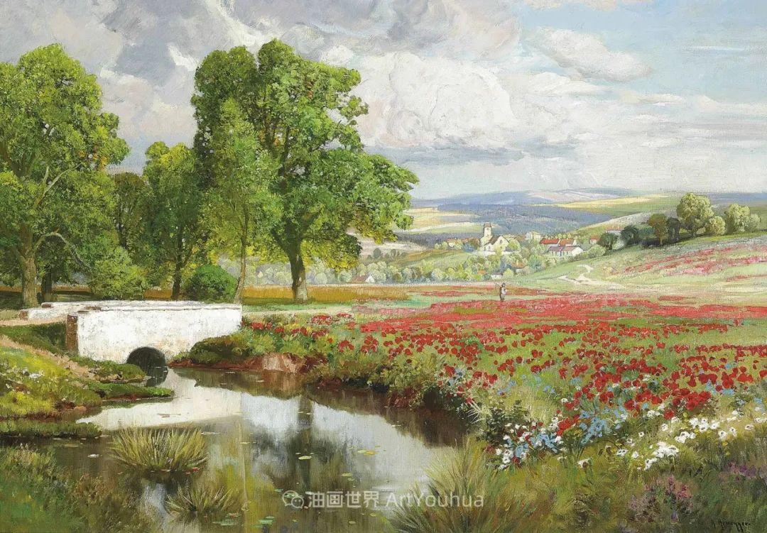 鲜花盛开的宁静乡村,风景美丽而浪漫!插图35