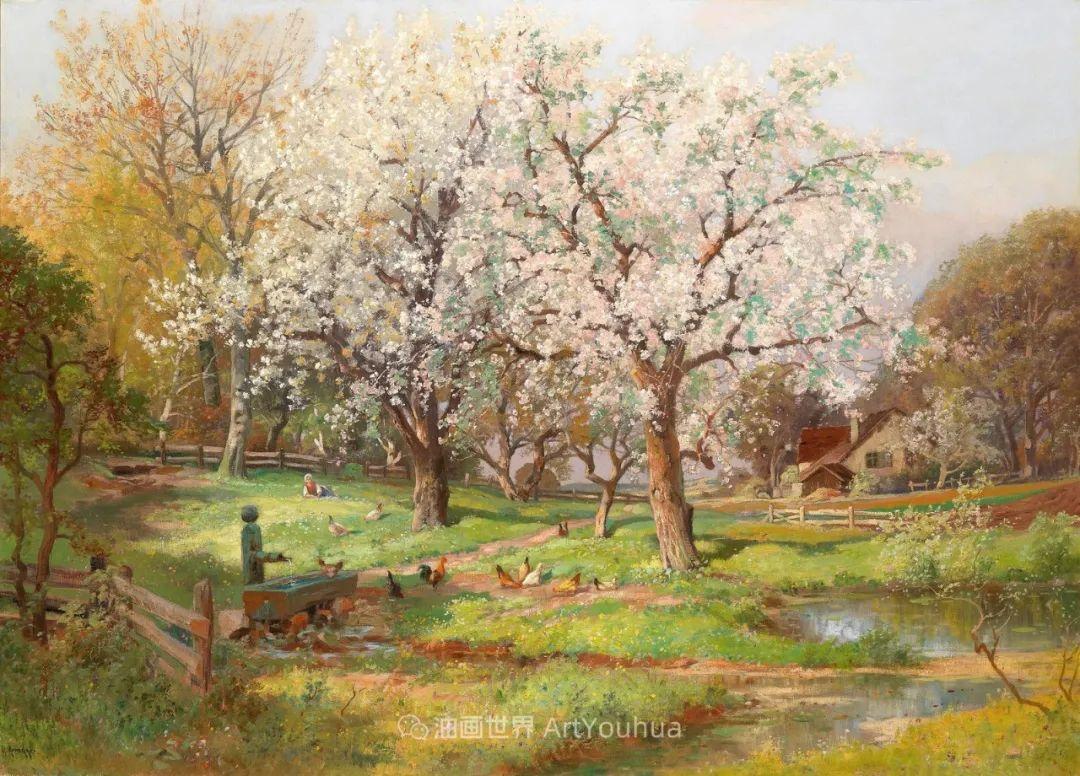 鲜花盛开的宁静乡村,风景美丽而浪漫!插图45