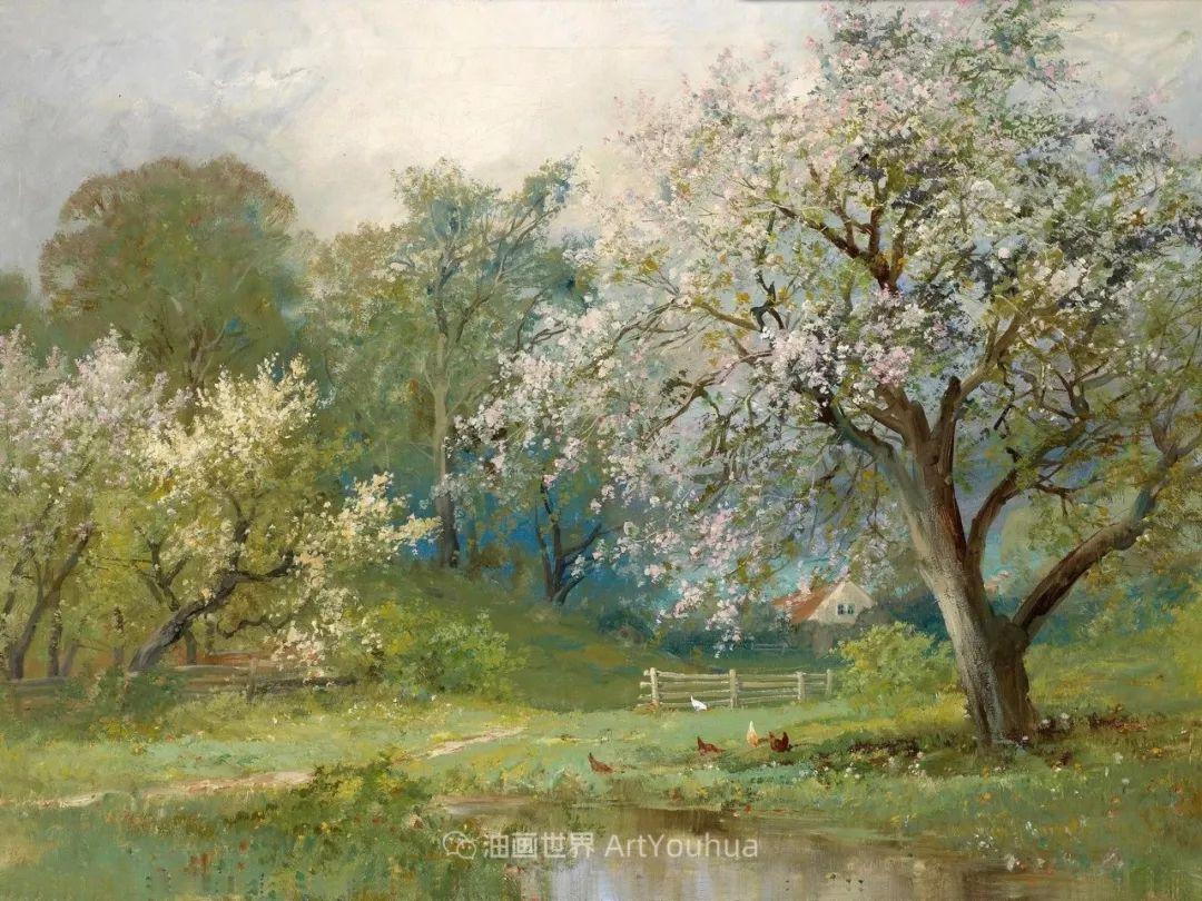 鲜花盛开的宁静乡村,风景美丽而浪漫!插图49