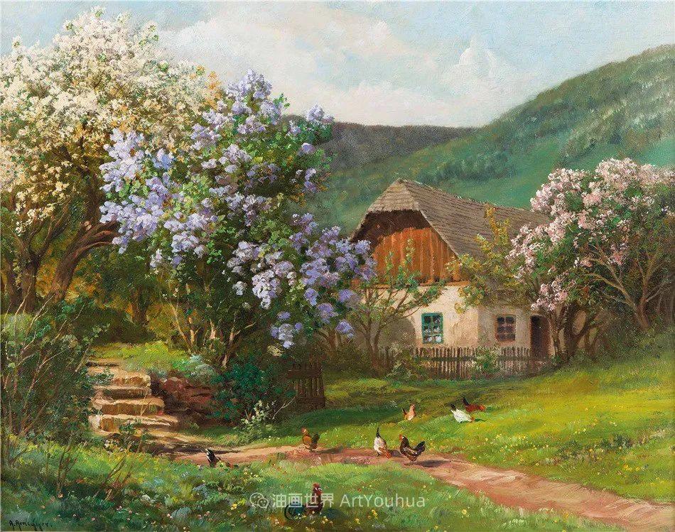 鲜花盛开的宁静乡村,风景美丽而浪漫!插图53