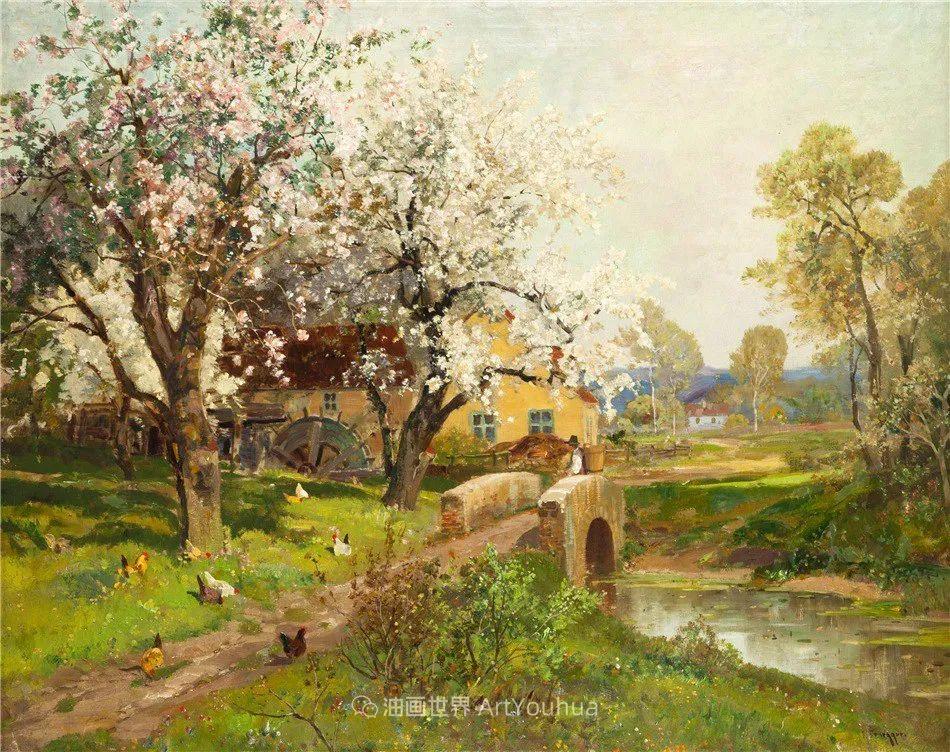 鲜花盛开的宁静乡村,风景美丽而浪漫!插图55
