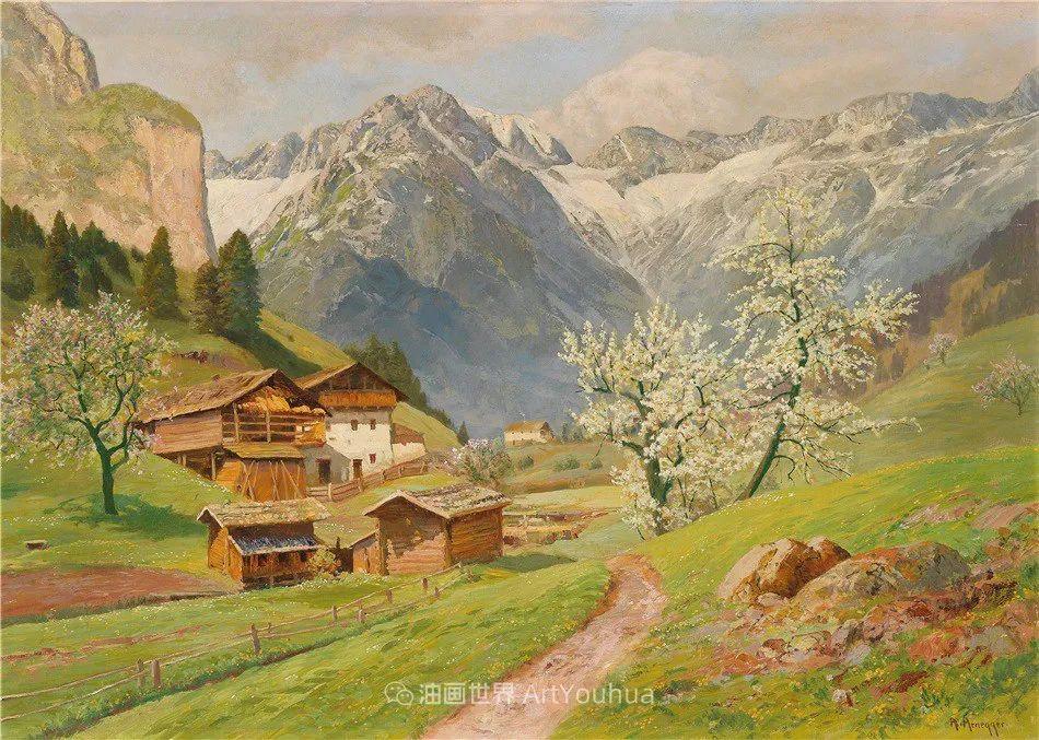 鲜花盛开的宁静乡村,风景美丽而浪漫!插图57
