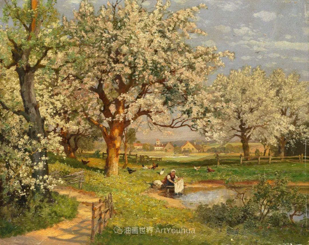 鲜花盛开的宁静乡村,风景美丽而浪漫!插图61