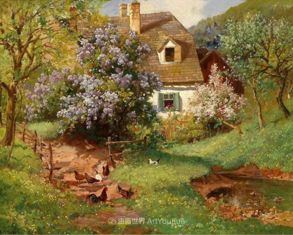 鲜花盛开的宁静乡村,风景美丽而浪漫!插图63