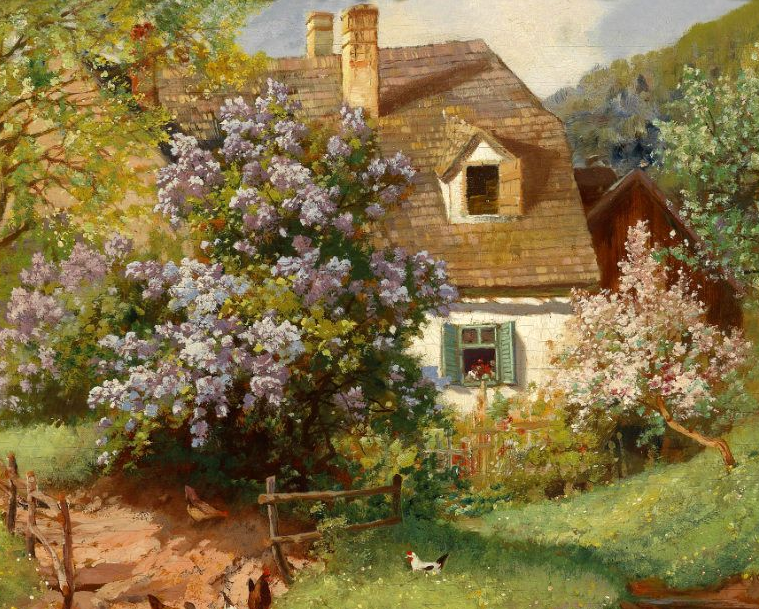 鲜花盛开的宁静乡村,风景美丽而浪漫!插图65