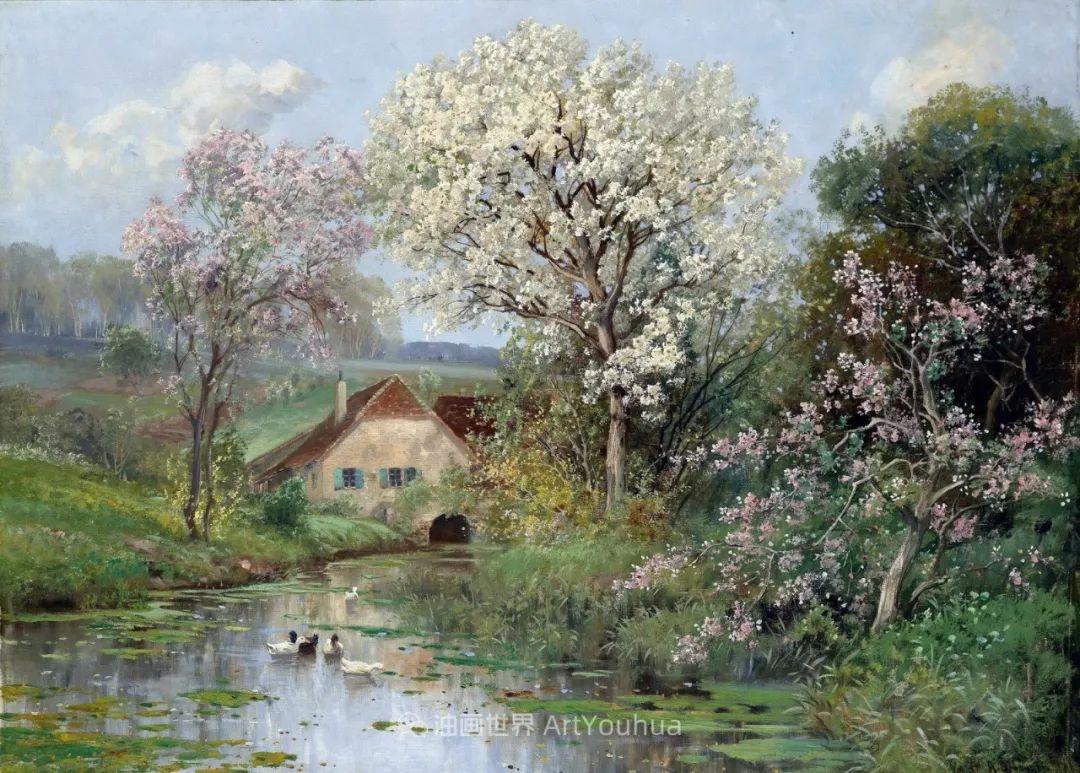 鲜花盛开的宁静乡村,风景美丽而浪漫!插图75