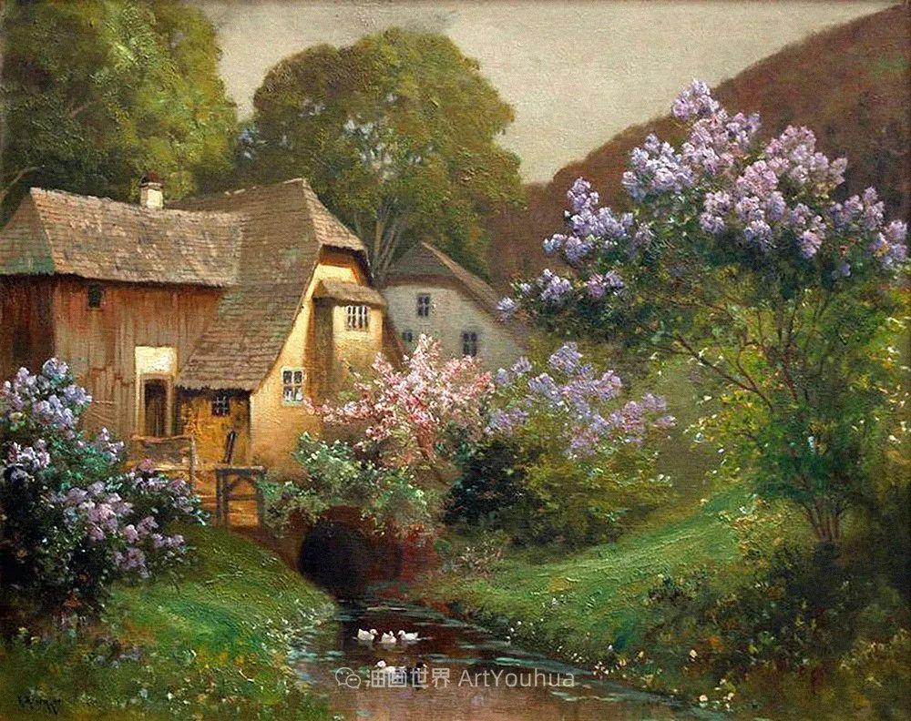 鲜花盛开的宁静乡村,风景美丽而浪漫!插图77