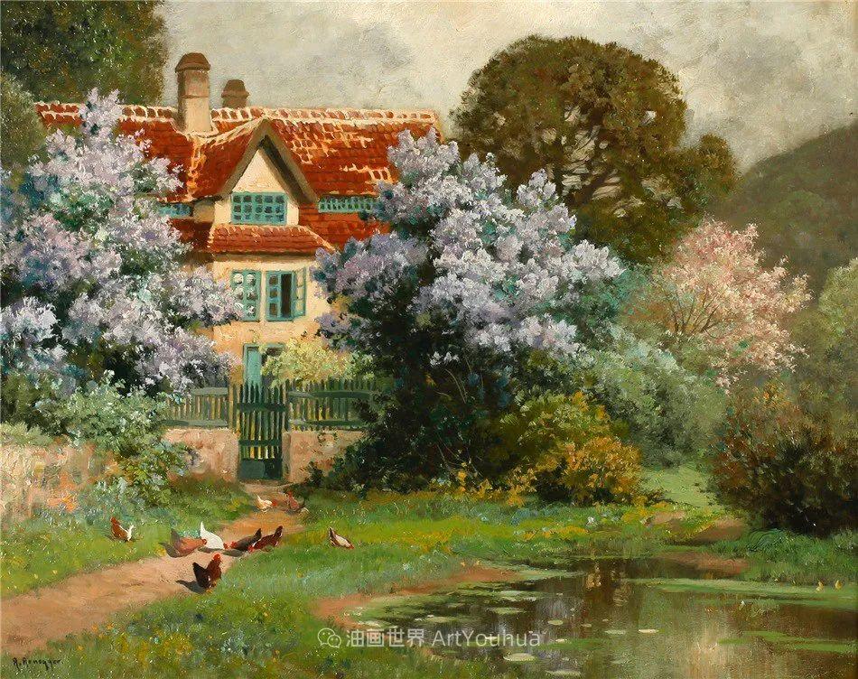 鲜花盛开的宁静乡村,风景美丽而浪漫!插图79