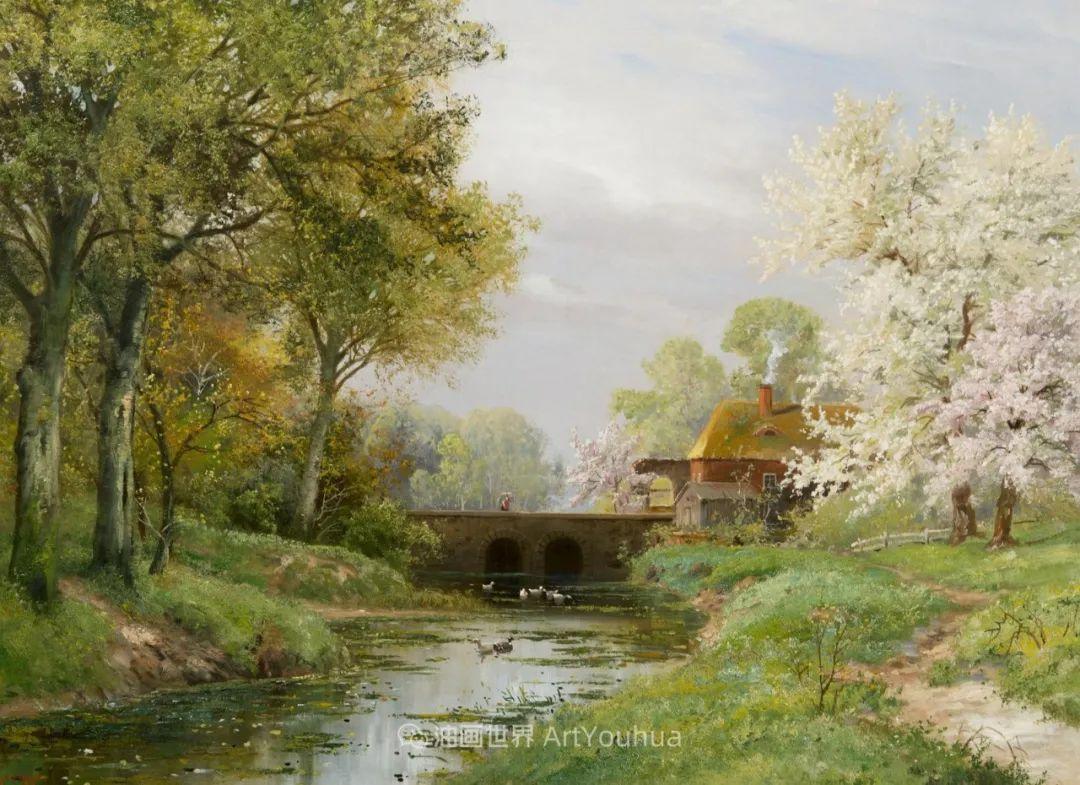 鲜花盛开的宁静乡村,风景美丽而浪漫!插图87