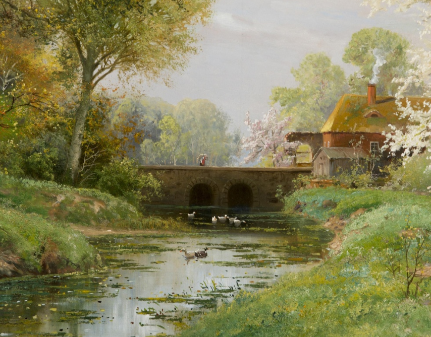 鲜花盛开的宁静乡村,风景美丽而浪漫!插图89