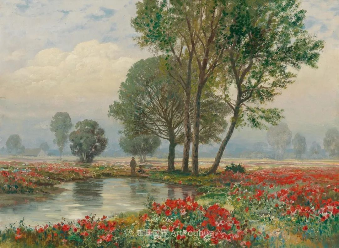 鲜花盛开的宁静乡村,风景美丽而浪漫!插图91