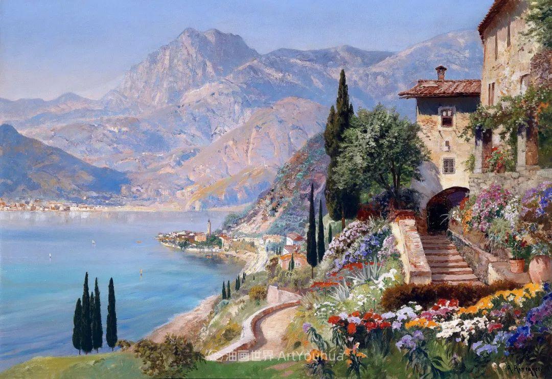 鲜花盛开的宁静乡村,风景美丽而浪漫!插图95
