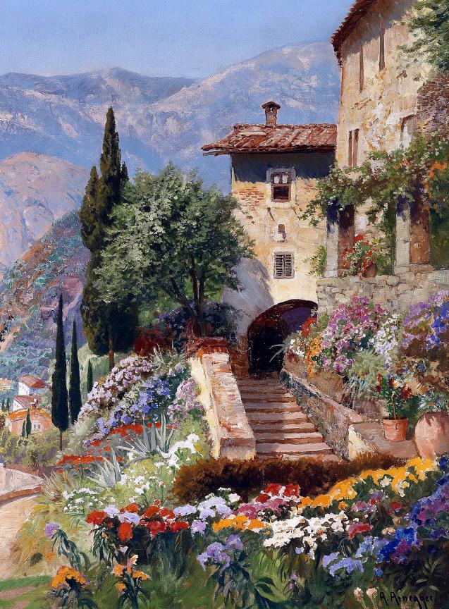 鲜花盛开的宁静乡村,风景美丽而浪漫!插图99