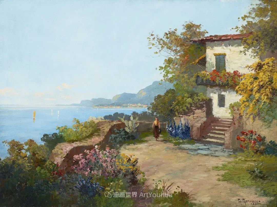 鲜花盛开的宁静乡村,风景美丽而浪漫!插图147