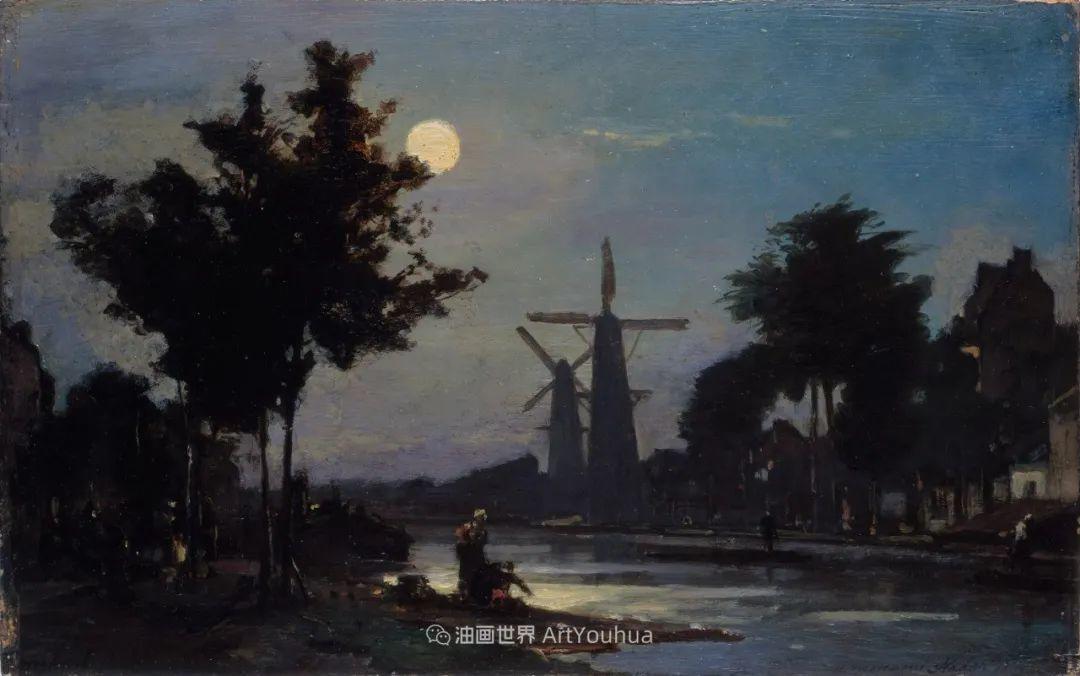 莫奈眼中的老师,印象派的直接启蒙者,荷兰画家约翰·琼坎德插图97