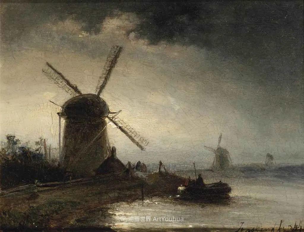 莫奈眼中的老师,印象派的直接启蒙者,荷兰画家约翰·琼坎德插图105