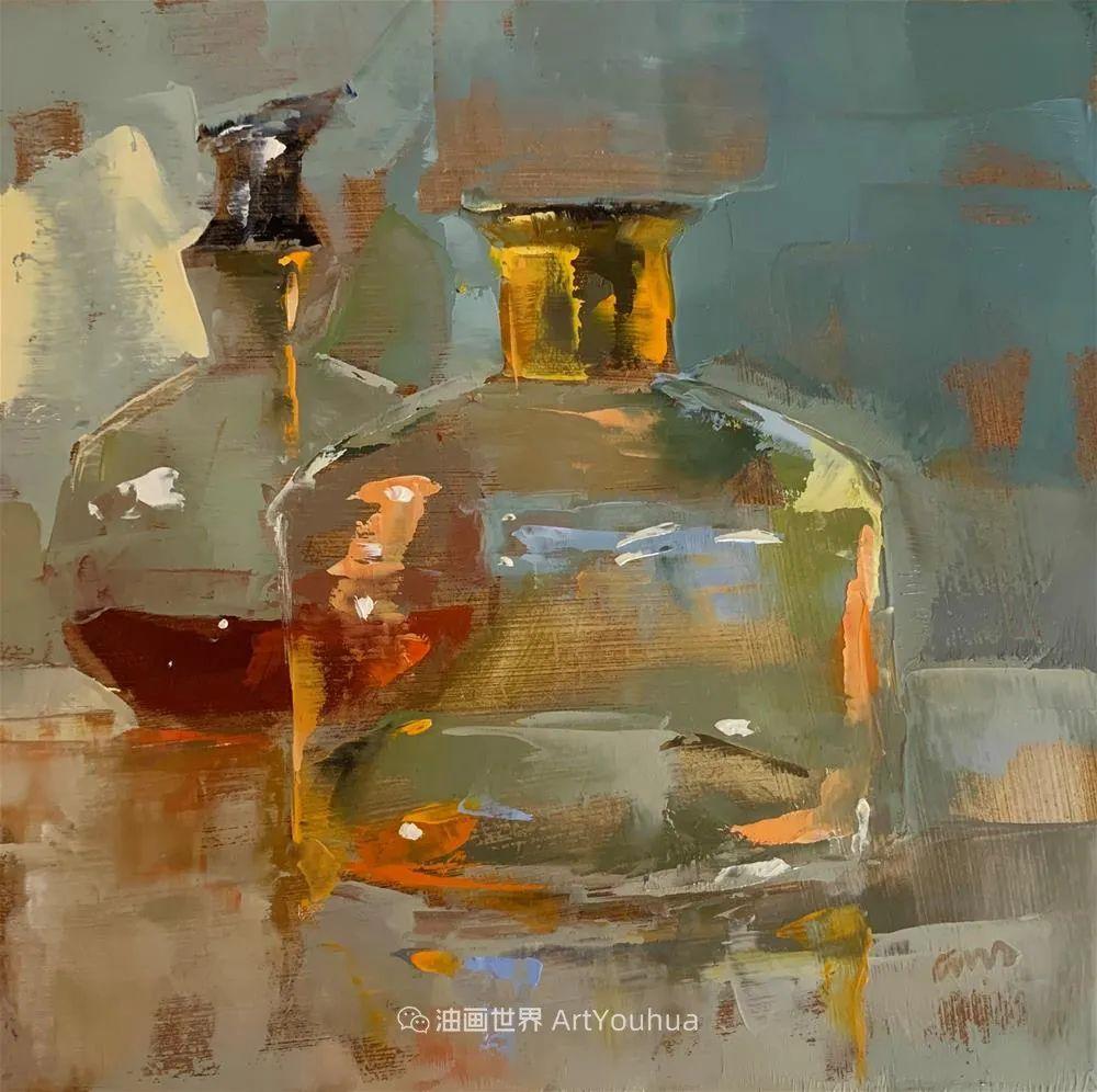 超美的色块,极具质感的静物油画!插图7