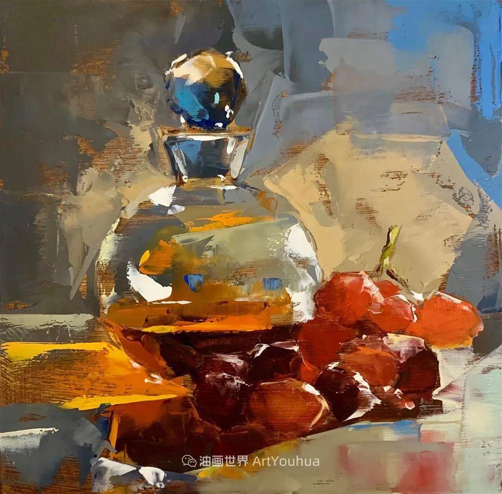 超美的色块,极具质感的静物油画!插图11