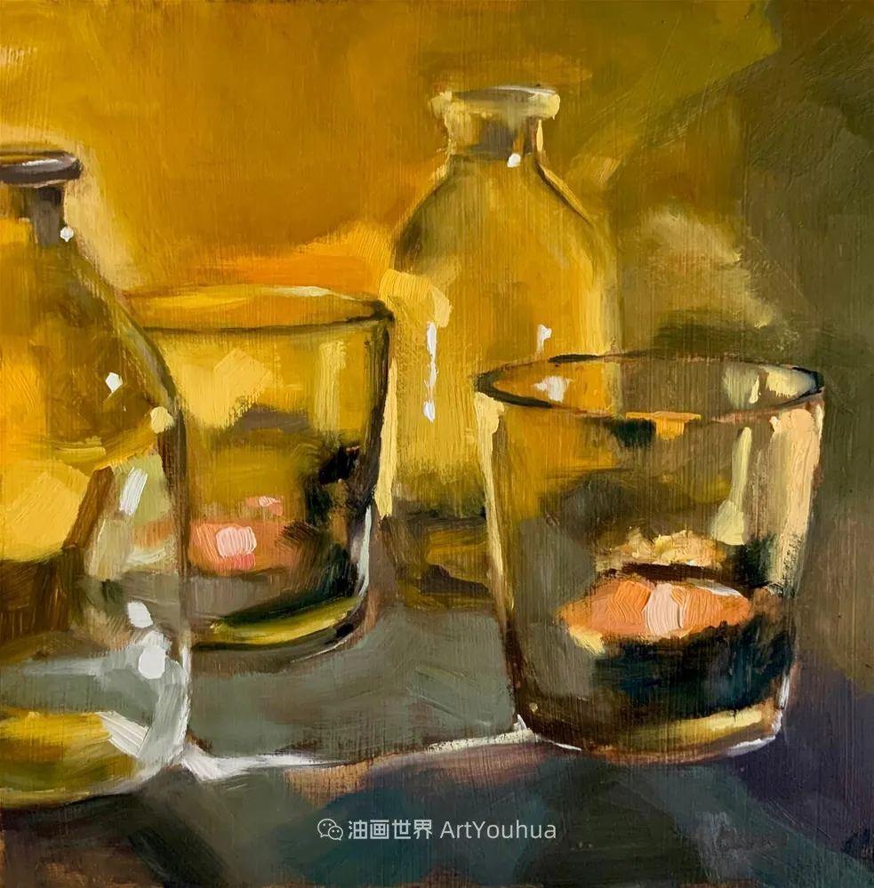 超美的色块,极具质感的静物油画!插图25
