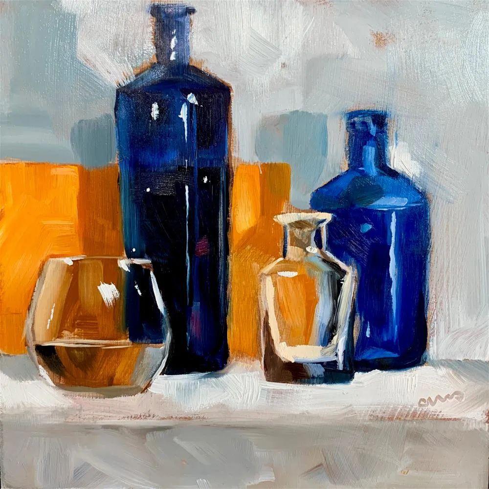 超美的色块,极具质感的静物油画!插图41
