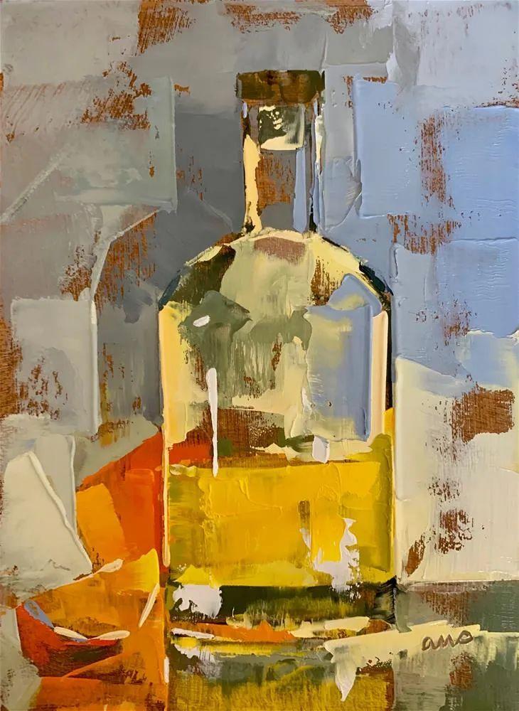 超美的色块,极具质感的静物油画!插图47