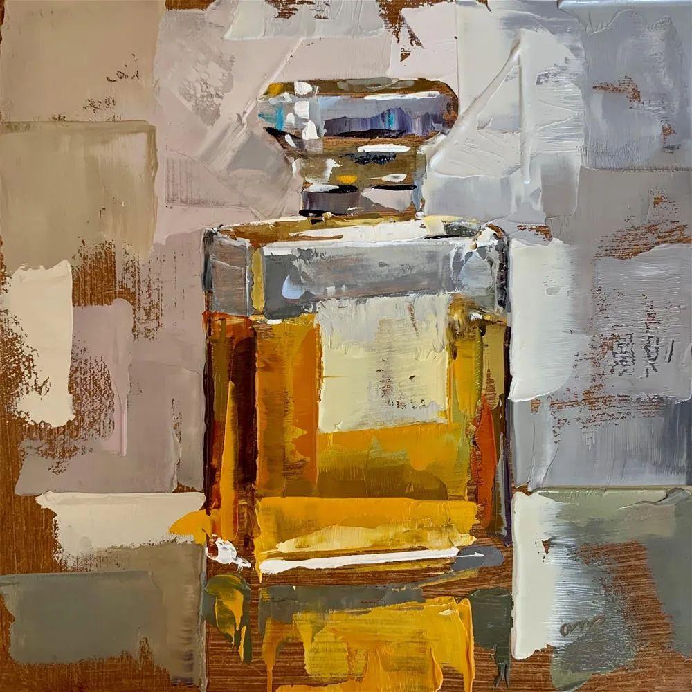 超美的色块,极具质感的静物油画!插图49