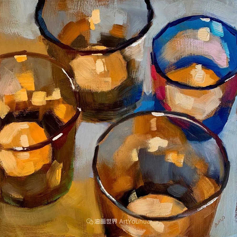 超美的色块,极具质感的静物油画!插图63