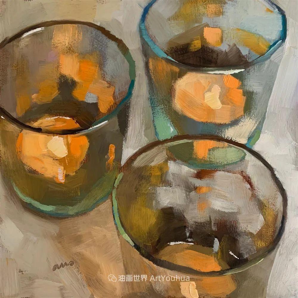 超美的色块,极具质感的静物油画!插图65