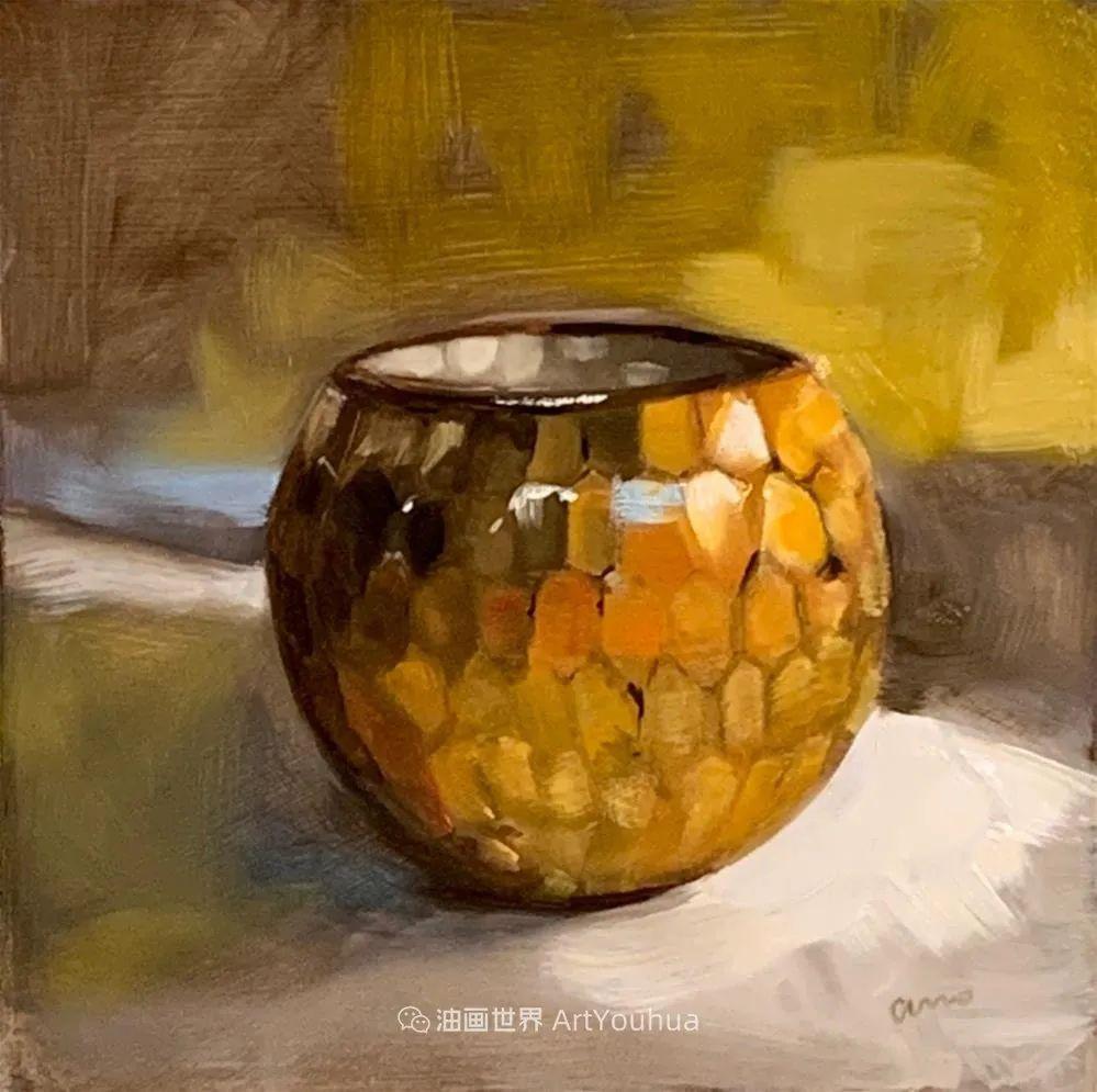 超美的色块,极具质感的静物油画!插图83