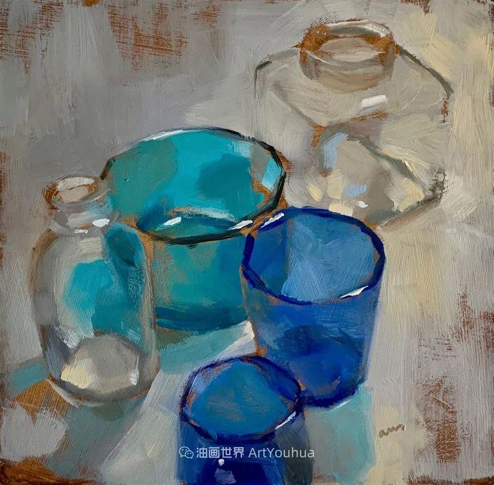 超美的色块,极具质感的静物油画!插图103