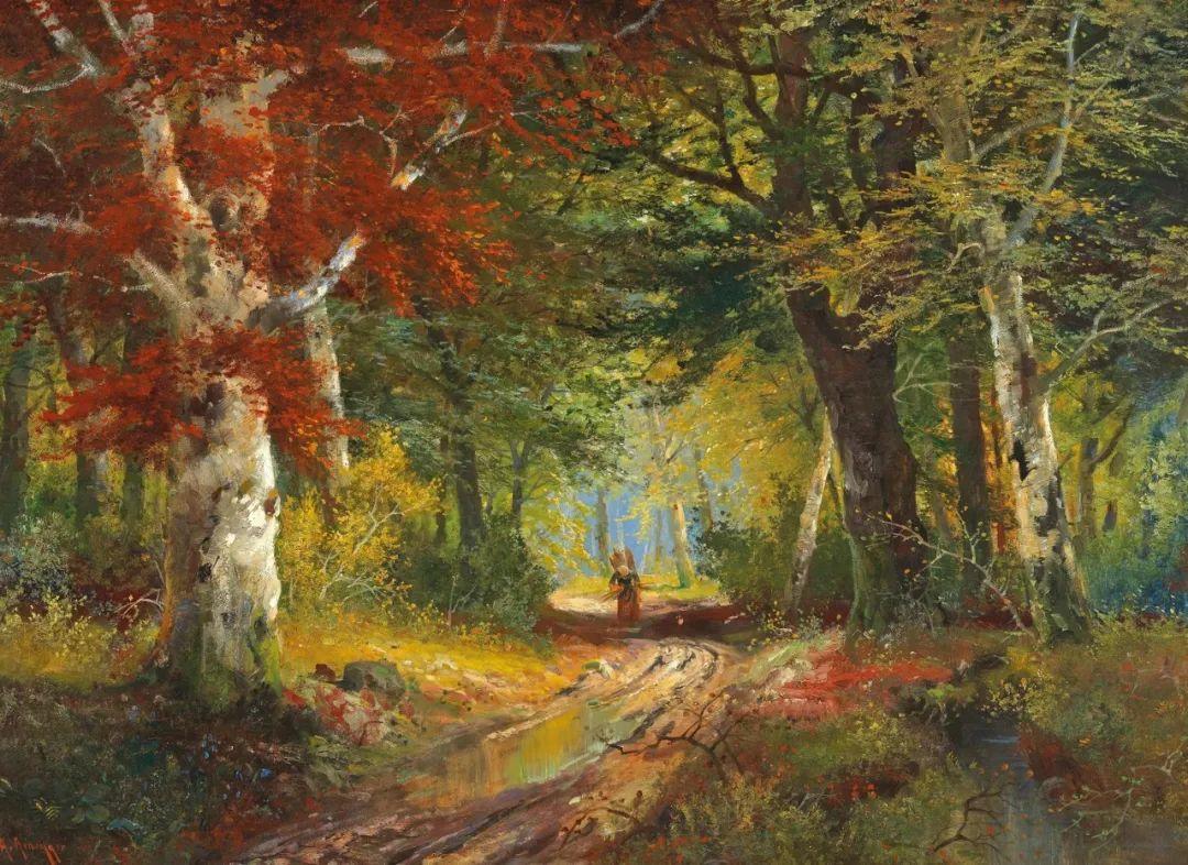 一派宁静秀丽的乡村景色,令人陶醉的色彩!插图1