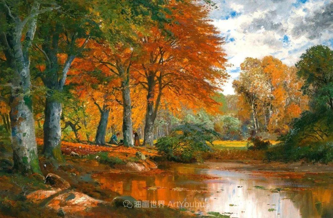 一派宁静秀丽的乡村景色,令人陶醉的色彩!插图9