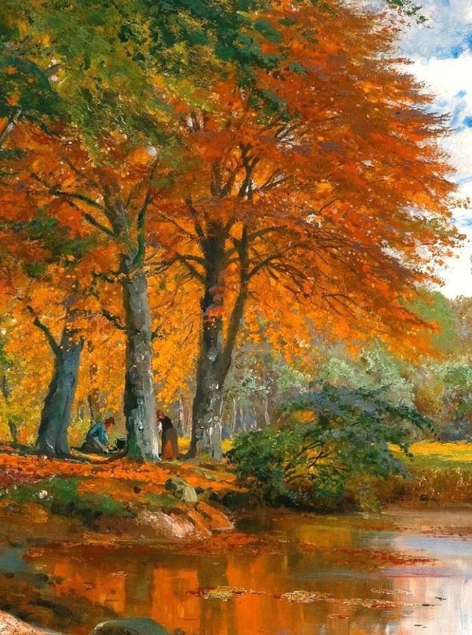 一派宁静秀丽的乡村景色,令人陶醉的色彩!插图13