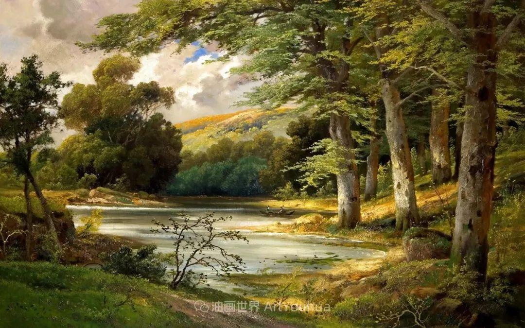一派宁静秀丽的乡村景色,令人陶醉的色彩!插图15