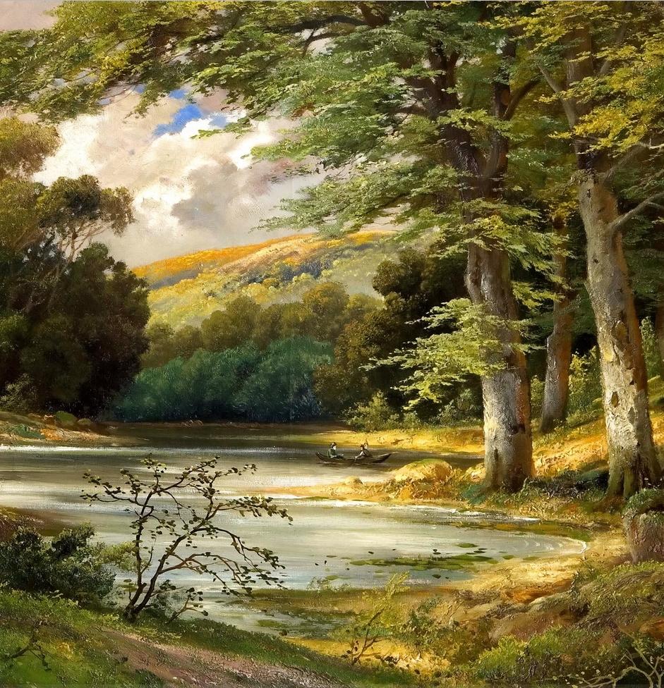 一派宁静秀丽的乡村景色,令人陶醉的色彩!插图17