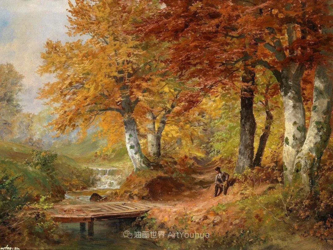 一派宁静秀丽的乡村景色,令人陶醉的色彩!插图23