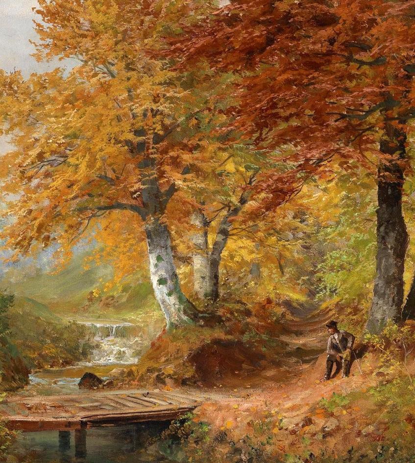 一派宁静秀丽的乡村景色,令人陶醉的色彩!插图25